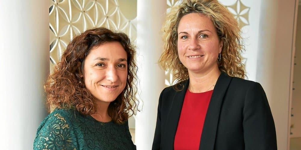 Marie-Eve HAMON Ouest Bureau et Céline Jeulin groupe JEULIN