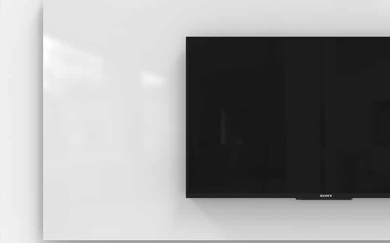 Tableau blanc mural tv ouest bureau