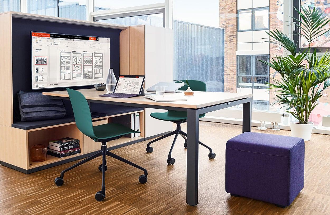Bureau Informatique Petit Espace mobilier de bureau & aménagement espace de travail dans le